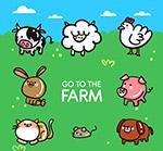 可爱农场动物