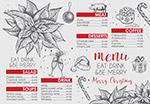 圣诞节餐馆菜单