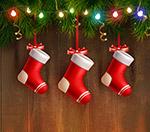 圣诞节袜子挂饰