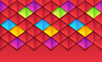 纸质菱形格纹背景