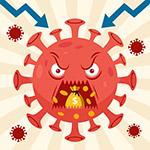 吞食金币的冠状病毒