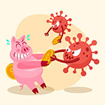 冠状病毒抢夺金币