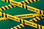 新型冠状病毒警示带