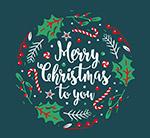 圣诞祝福艺术字