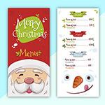 圣诞老人菜单