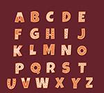 花纹饼干字母
