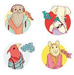 11个动物角色