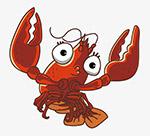 小龙虾简笔画
