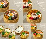 便当盒里的日式料理