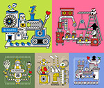 卡通机器化作业3
