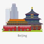 扁平北京旅游景点