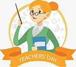 教师节可爱女老师