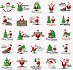 卡通圣诞老人图标