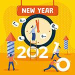 2021新年创意海报