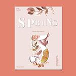 春季鲜花促销海报