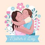 母亲节矢量插画