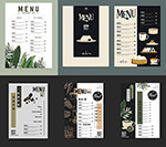 咖啡馆餐厅菜单