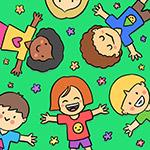 儿童节可爱插画