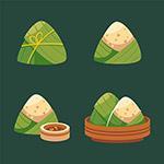 端午节粽子插图