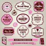 面包店食品标签