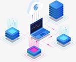 数据分析科技插画
