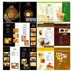 西餐菜谱模板