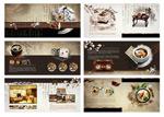 传统美食宣传画册