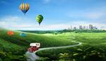 生态地产宣传海报