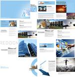 简约企业画册模板