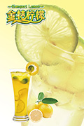 金桔柠檬茶海报