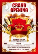 酒吧王冠主题海报