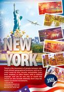 纽约旅游海报