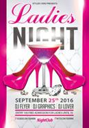 酒吧女士之夜海报