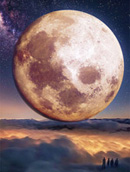 高清月亮图片