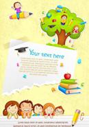 儿童节卡通海报