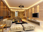 豪华客厅模型