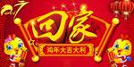 鸡年春节回家海报