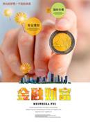 金融财富宣传海报