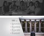 时尚企业宣传网页