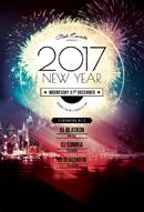 2017新年活动海报