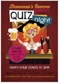 酒吧卡通啤酒海报