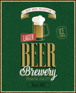 国外啤酒海报