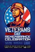 退伍军人节海报