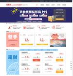 金融理财网页