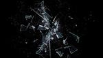 玻璃碎片图片