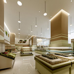 大型超市模型