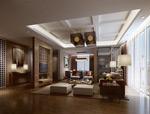 典雅客厅模型