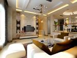 客厅装饰模型