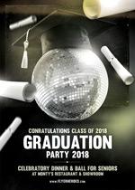 毕业晚会派对海报