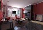 家装客厅模型